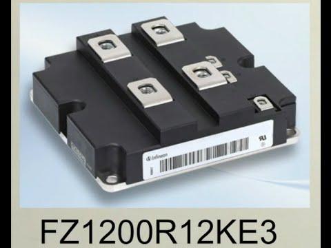 infineon fz1200r12ke3 igbt inverter circuits for ups youtube rh youtube com Rectifier Circuit Diagram Rectifier Circuit Diagram