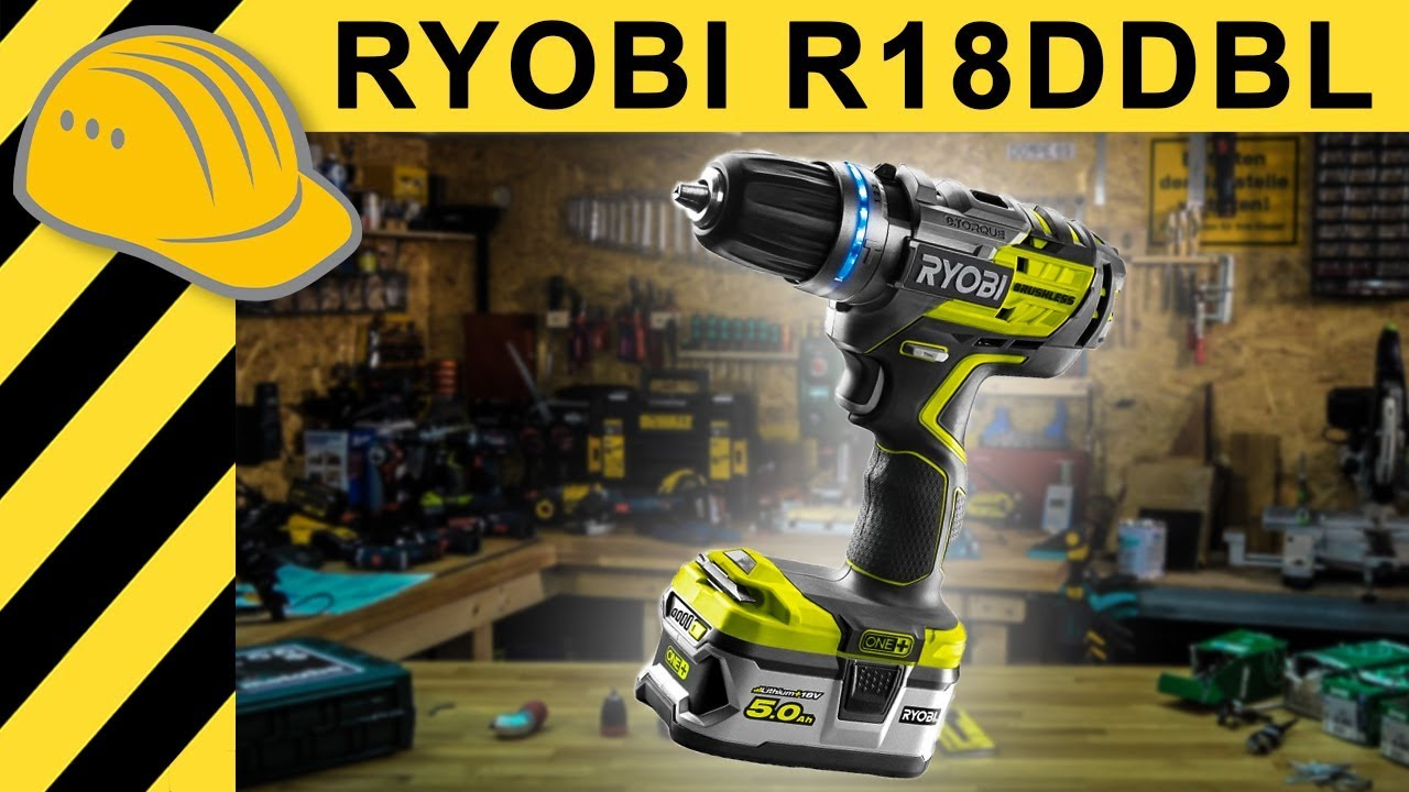 ryobi akkuschrauber test r18ddbl brushless 5ah one akku. Black Bedroom Furniture Sets. Home Design Ideas