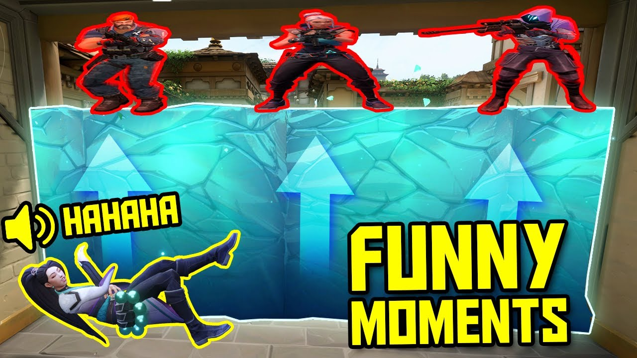 FUNNIEST MOMENTS IN VALORANT #43