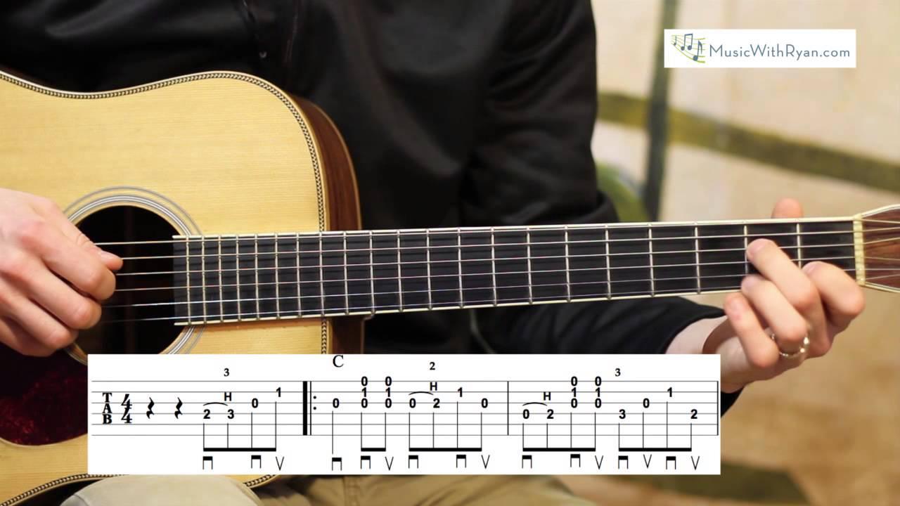 wildwood flower advanced guitar lesson youtube. Black Bedroom Furniture Sets. Home Design Ideas