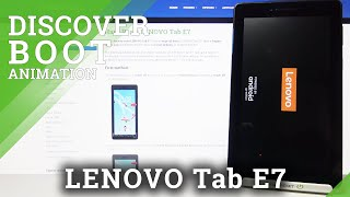 Boot Animation Review - Lenovo Tab E7 Turning On