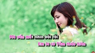 [KARAOKE HD] Tình Yêu Trên Dòng Sông Quan Họ - Anh Thơ - Beat phối
