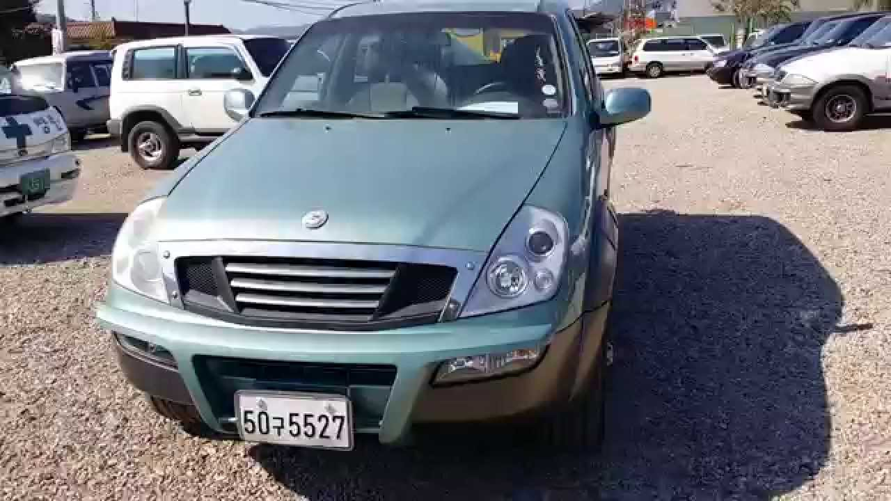 ssangyong rexton manual 2002 youtube rh youtube com