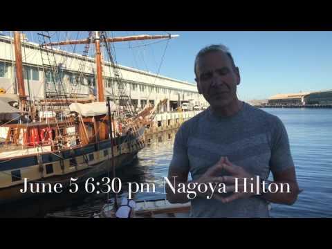 Nagoya Japan -  Greeting American Chamber of Commerce