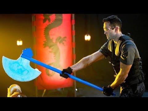 Sub-Zero's Ice Axe | The Science of Mortal Kombat