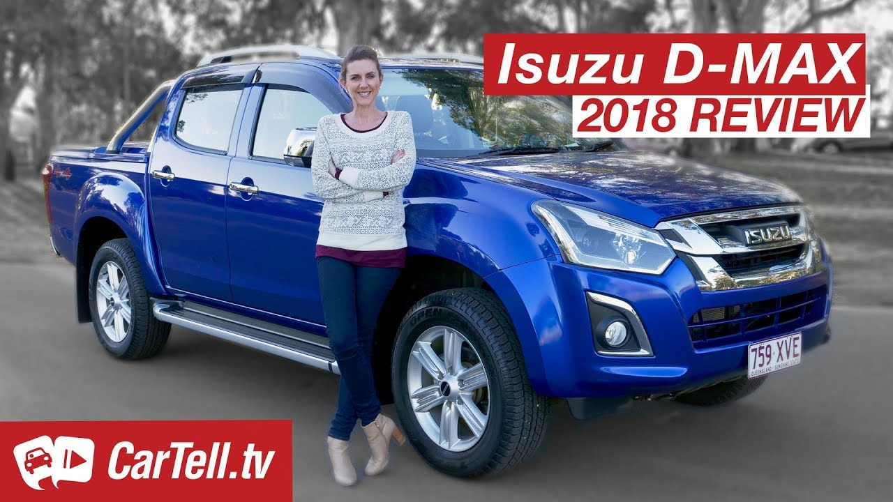 2018 isuzu d-max review | cartell.tv - youtube