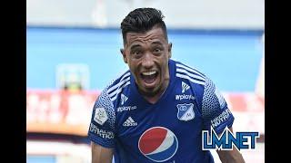 América 1 Millonarios 2 - 4os de final ida Liga Betplay 2021-1: Arango-Silva-Uribe responden.