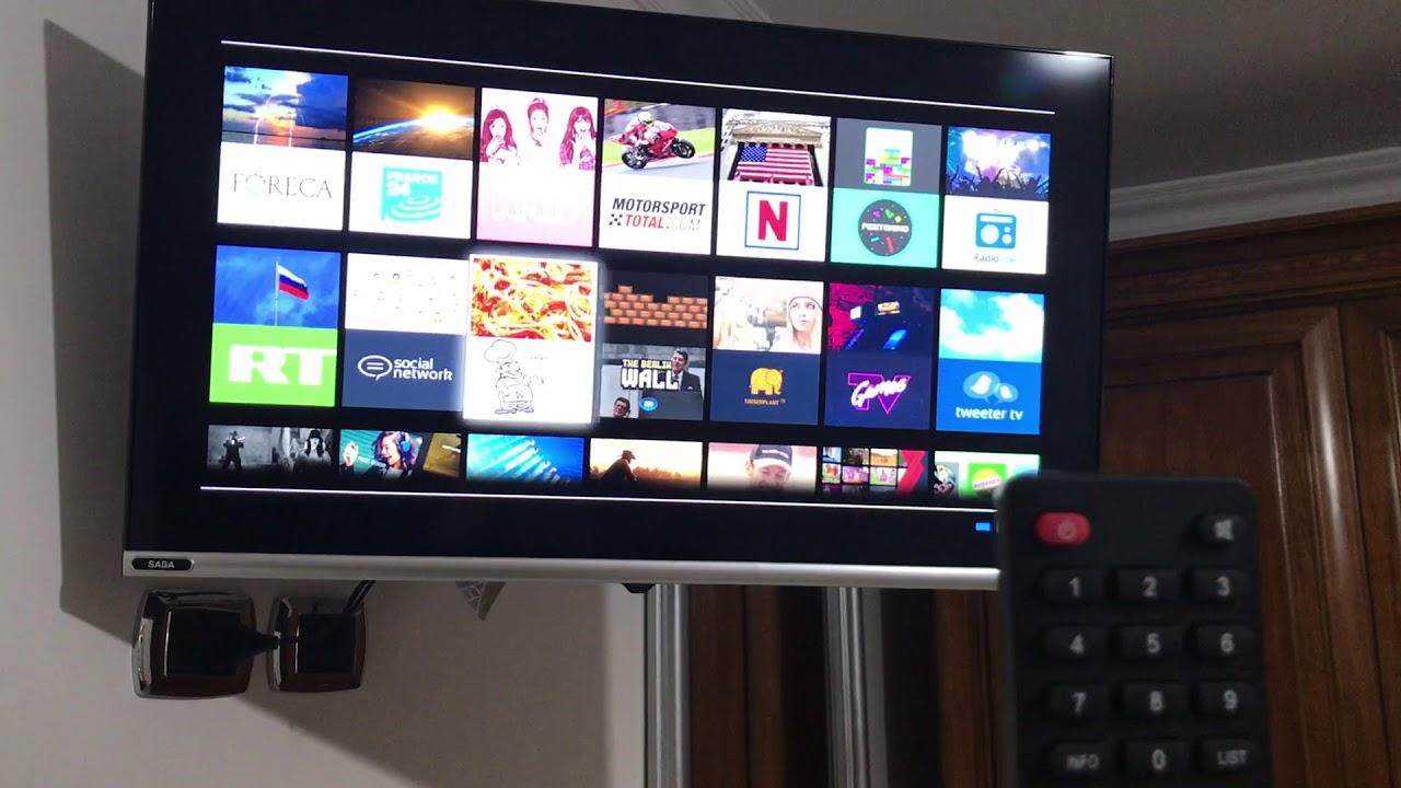 Download Installare App Smart Tv Saba