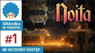 Noita PL #1   EA   W tej grze każdy pixel żyje swoim życiem! :o