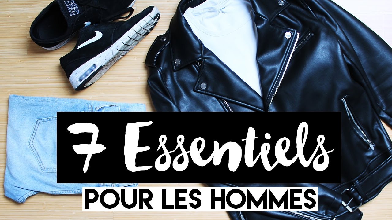7 Essentiels De La Garde Robe Masculine Menswear Youtube