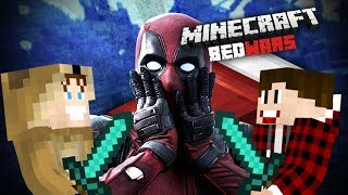 NUŽUDŽIAU DEADPOOL'Ą? | Minecraft: Bed Wars #9 | w/Vėjas
