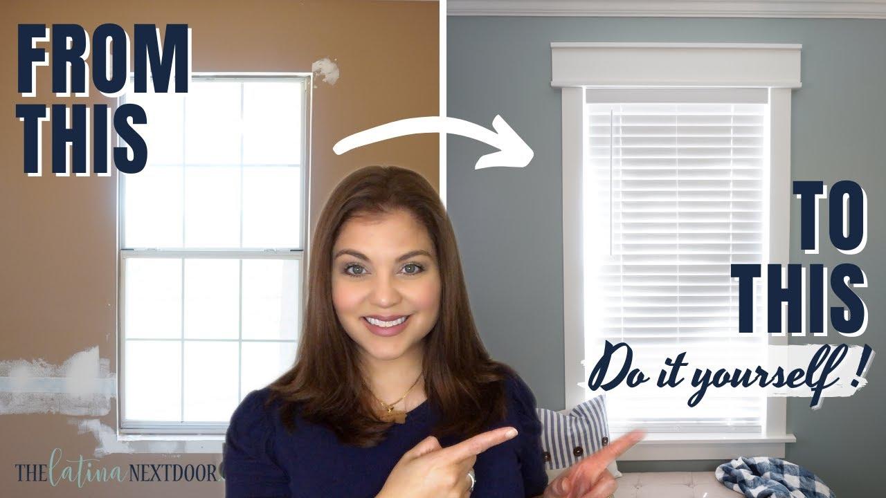 HOW TO INSTALL WINDOW CASING | DIY Window Trim Installation