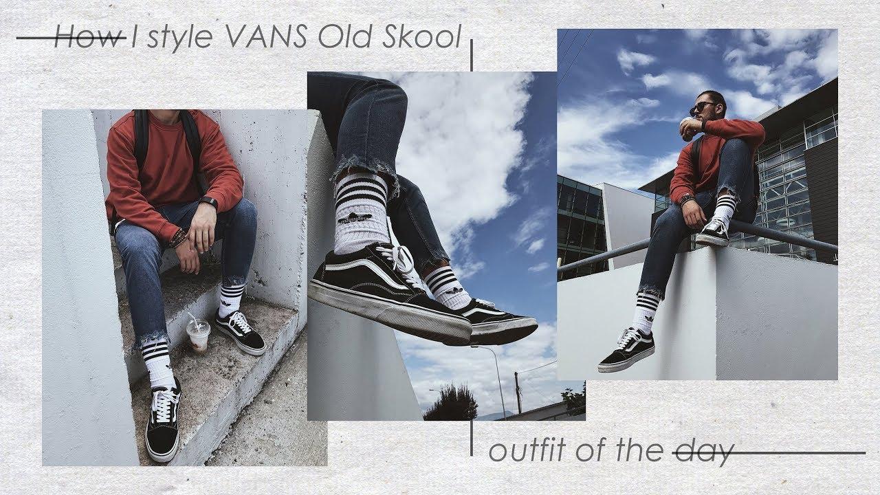 522c903bcf3ebc Outfit Vans Old Skool Men