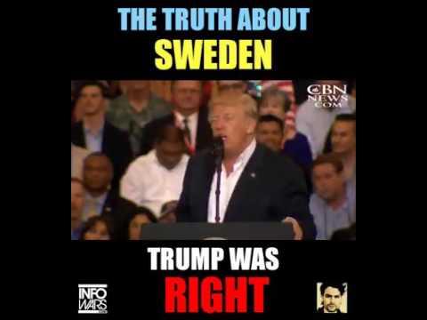 hqdefault trump was right, sweden had an immigration problem youtube,Trump Sweden Meme