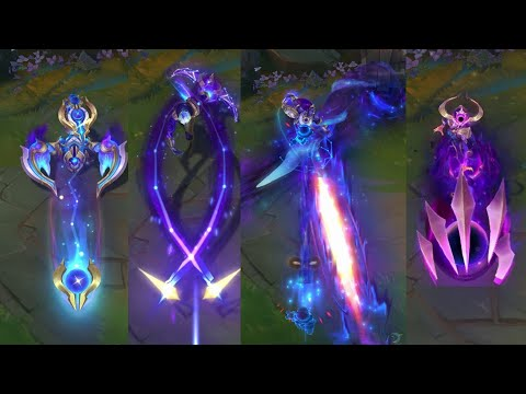 NEW COSMIC SKINS, SKARNER AND MORE. PRESTIGE SORAKA STAR GUARDIAN SKIN! PBE Preview