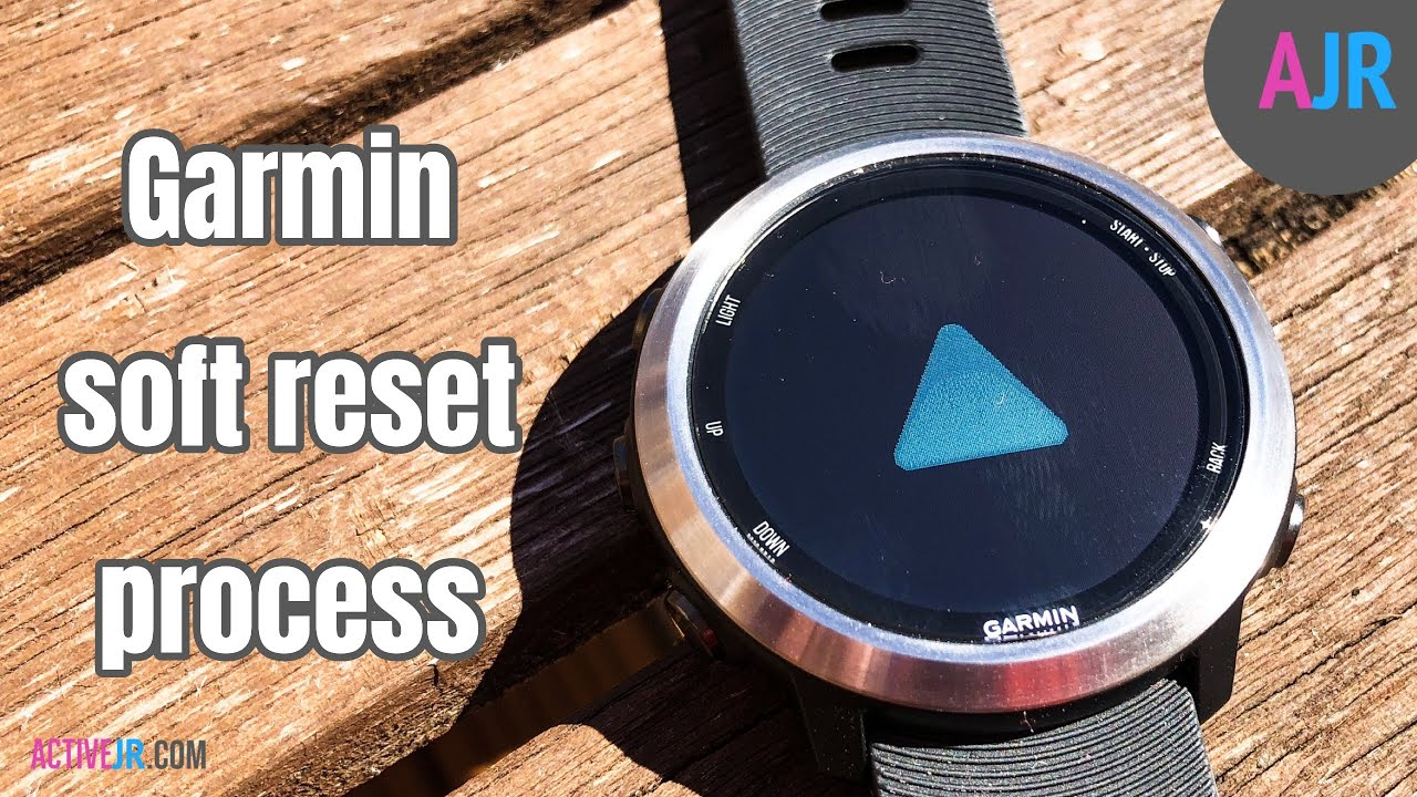 How to soft reset my Garmin Fenix or Garmin Forerunner watch