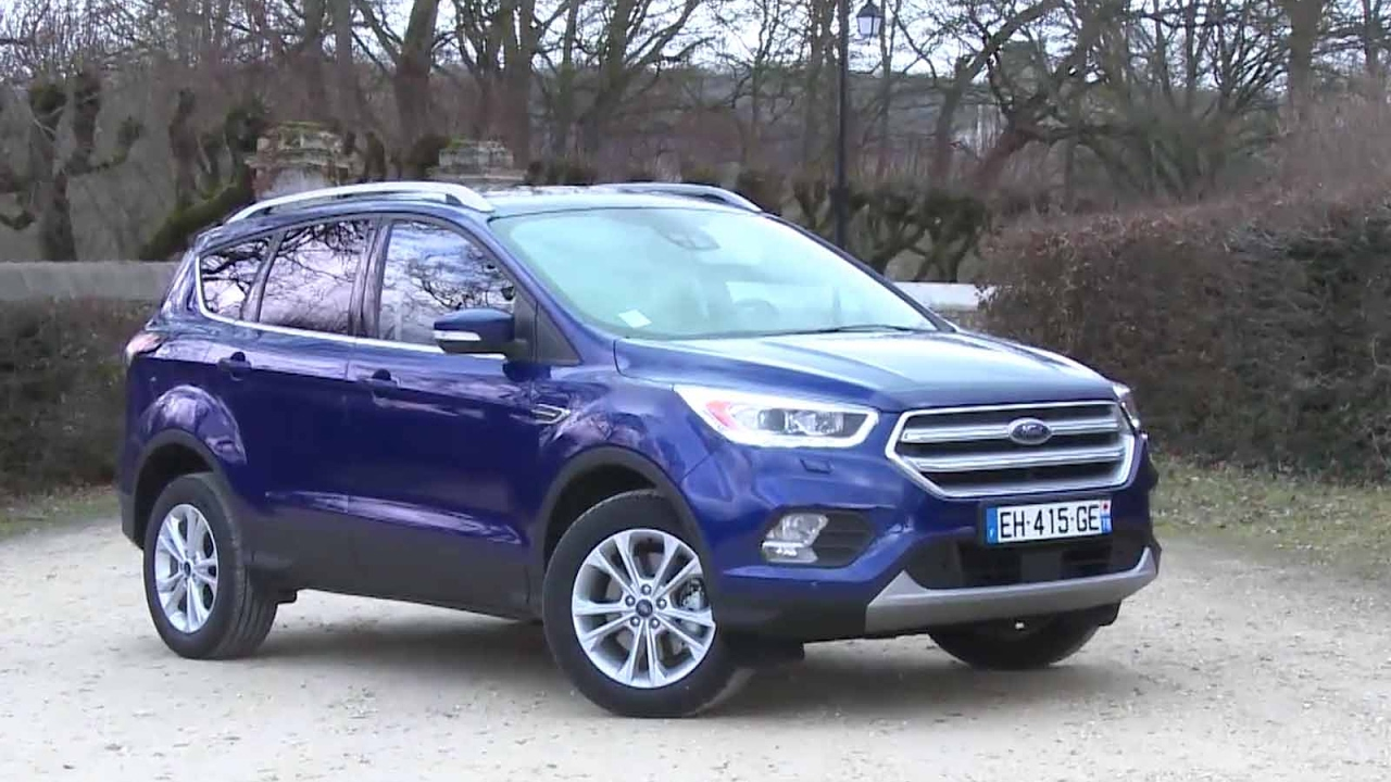 essai ford kuga 1 5 tdci 120 titanium 2017 youtube. Black Bedroom Furniture Sets. Home Design Ideas