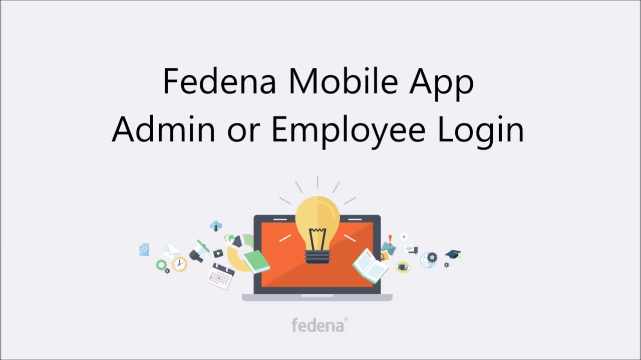 Admin Or fedena mobile app - admin or employee login