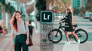 How to Edit Teal Aqua & Soft Orange Tone - Lightroom Mobile Tutorial