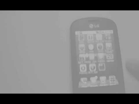 IOS 5.0 (iphone) Launcher on LG Optimus ME P350(ANDROID)