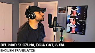 Del Mar by Ozuna, Doja Cat, & Sia (ENGLISH TRANSLATION)