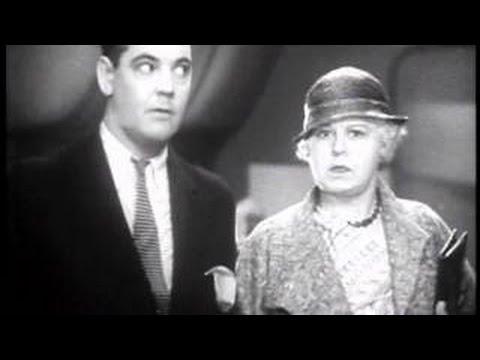 STEAM TRAIN COMEDY MOVIE Quiet Please! 1939