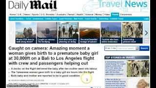 Emergency birth proves the Earth is FLAT