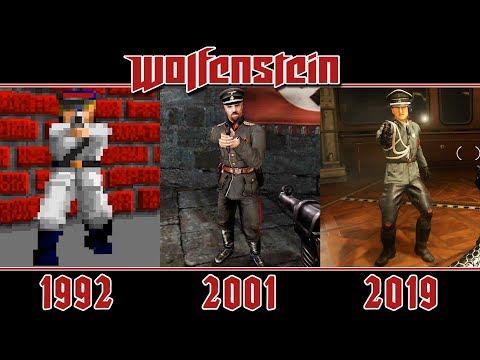 All Enemies Of Wolfenstein (1992-2019)
