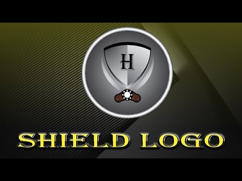 Illustrator Tutorial : How To Make A Shield Logo Design [Urdu / Hindi]. thumbnail