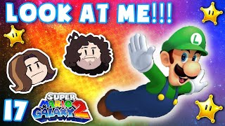 Floating Luigi just wants to be seen! - Super Mario Galaxy 2: Part 17