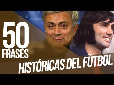 Las 50 MEJORES FRASES de la historia del fútbol