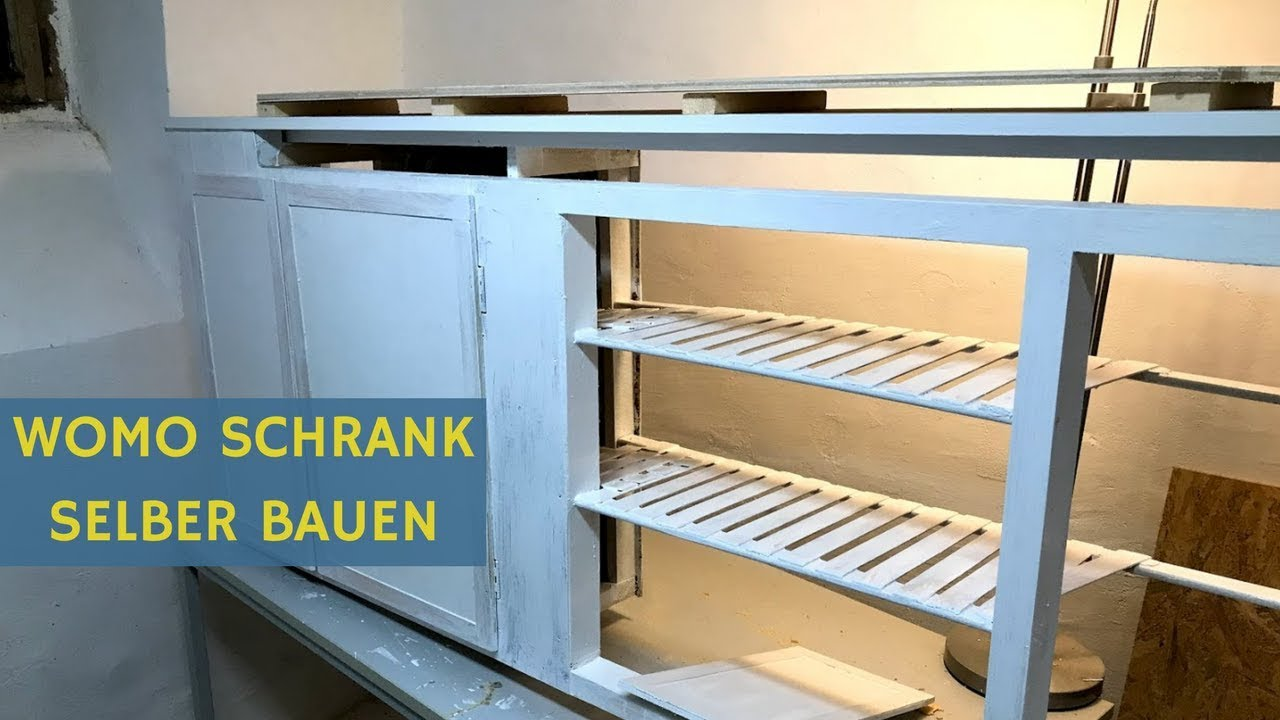 Turbo Wohnmobil Selbstausbau: Schrank bauen leicht gemacht? - YouTube YI11