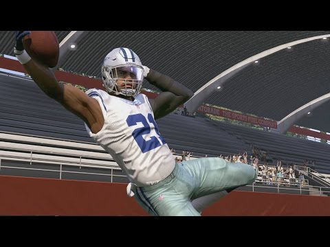 Can Clutch Score a 99yd TD with Ezekiel Elliott BUT NEVER HIT THE TURBO BUTTON!!?? Madden 17