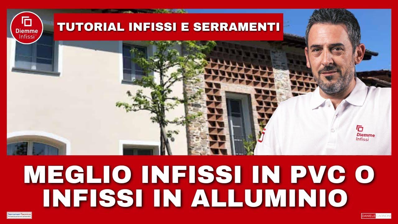 Serramenti Pvc O Alluminio Opinioni meglio infissi in pvc o in alluminio? pro e contro serramenti.