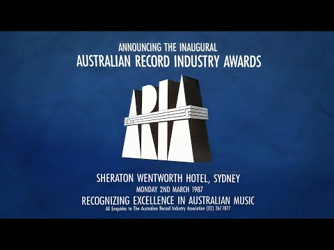 ARIA Awards 1987 - The first ARIA's