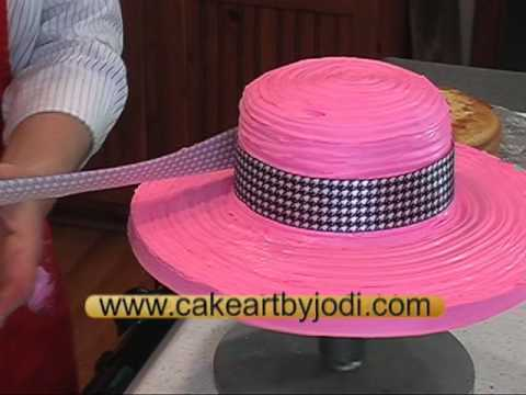 How To Make A Hat Amp Purse Cake Youtube