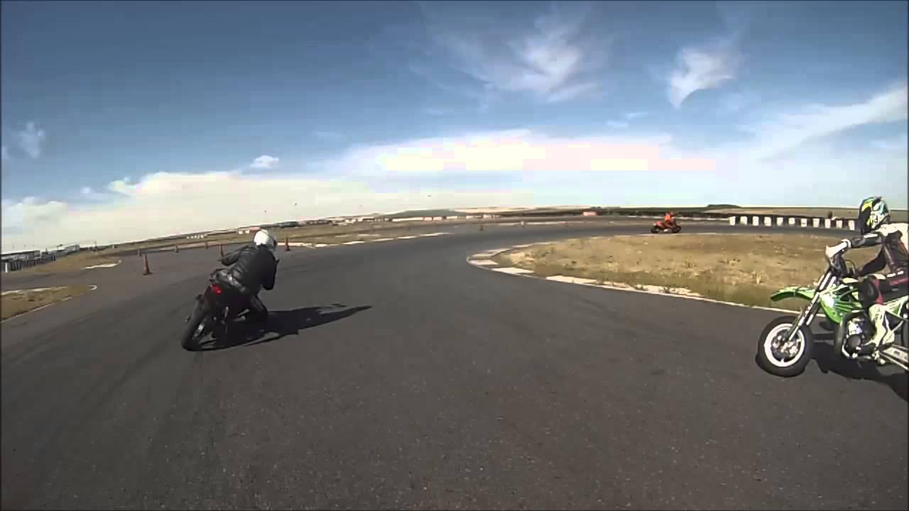 Circuito Fk1 : Grabación on board desde la moto del monitor en circuito