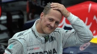 Repeat youtube video 'FORMULA 1 IN STATE OF SHOCK' OVER SCHUMACHER SKIING ACCIDENT - BBC NEWS