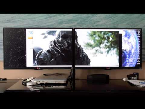 Connect Two Monitors to Macbook Pro using Mini DisplayPort + USB 2.0 Port (Two Product Review)