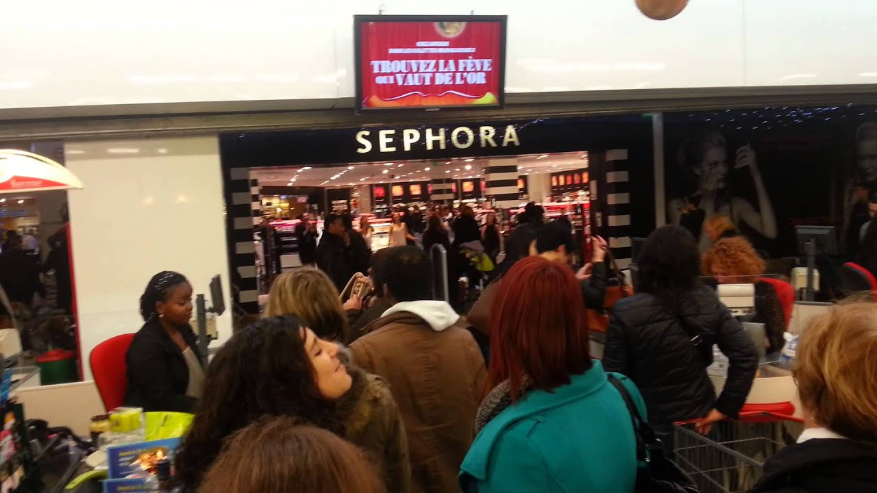 fflashmob sephora centre deux a st tienne youtube. Black Bedroom Furniture Sets. Home Design Ideas