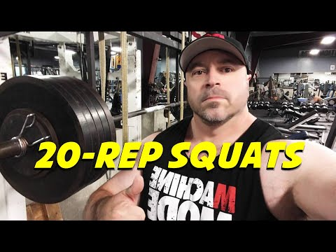 Are 20-Rep Squats the ULTIMATE Muscle Builder?