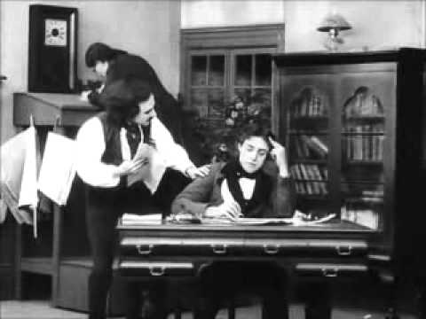 """Edgar Allan Poe"" (1909) - D.W. Griffith, Linda Arvidson, Arthur Johnson, Robert Harron"