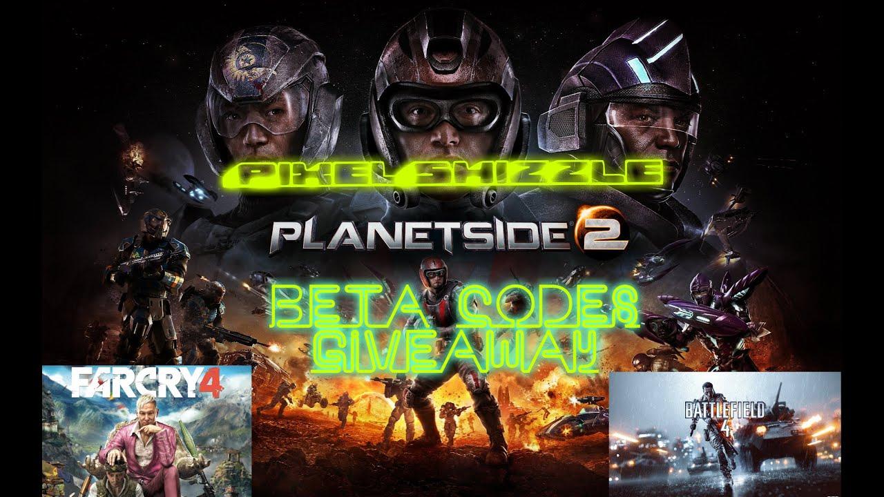 Planetside 2 Beta Keys Giveaway