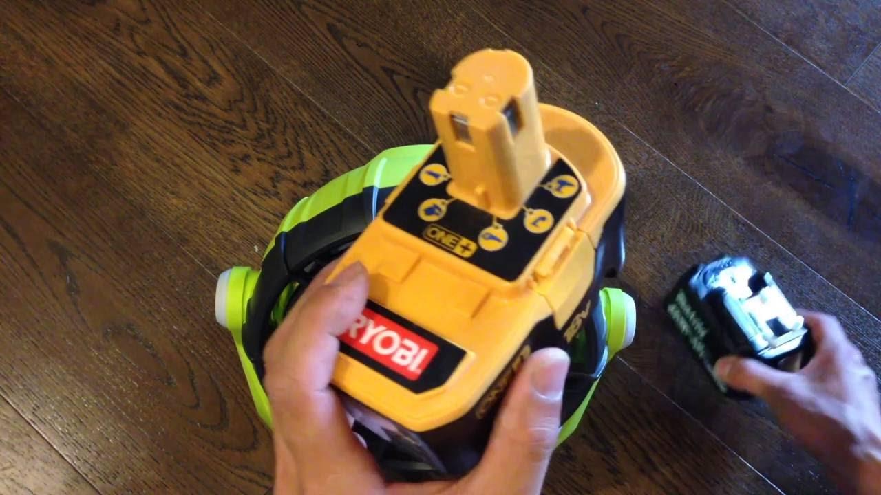 RIDGID Battery Adapter to Ryobi 18v One Works with Ryobi 18v One Tools