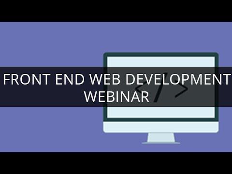 Front End Web Development I Trendy Web Designs Using HTML5 I Edureka
