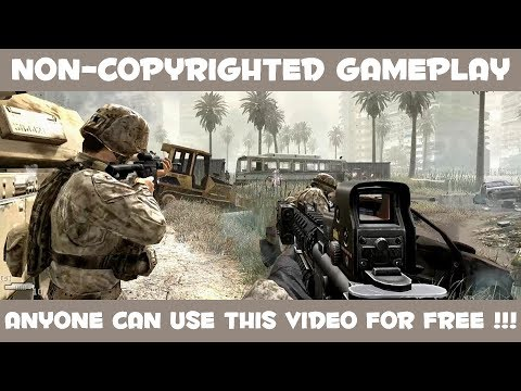 Cod  Modern Warfare Non Copyrighted Gameplay Free To Use In S