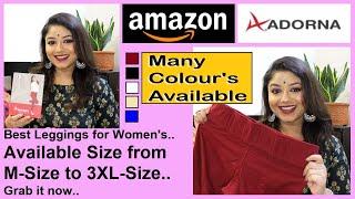 Best Quality Leggings ADORNA Leggings for Woman s Affordable Leggings Amazon Leggings