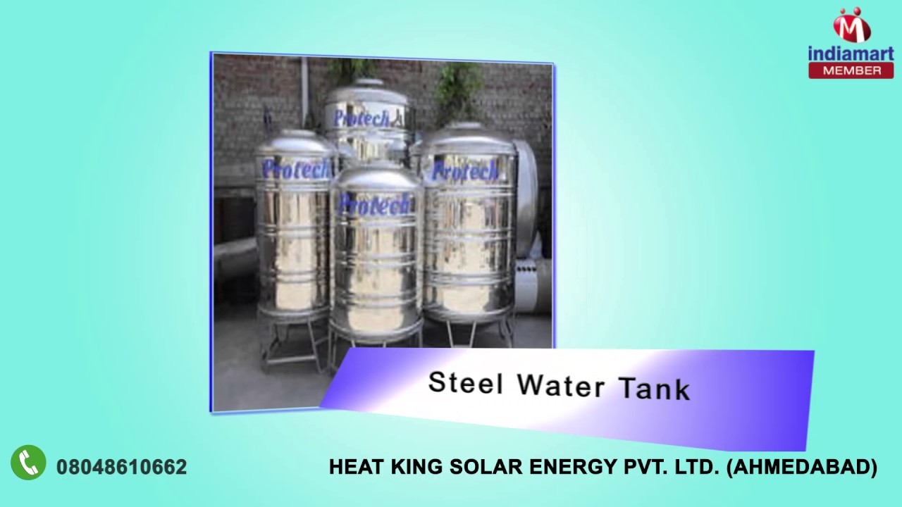 Solar Water Heater and Water Storage Tanks by Heat King Solar Energy ...