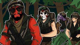 Rainbow Six: Siege | Guerilla Warfare! (w/ H2O Delirious, Gorilla, & Ohm) Blackbeard Elite Skin
