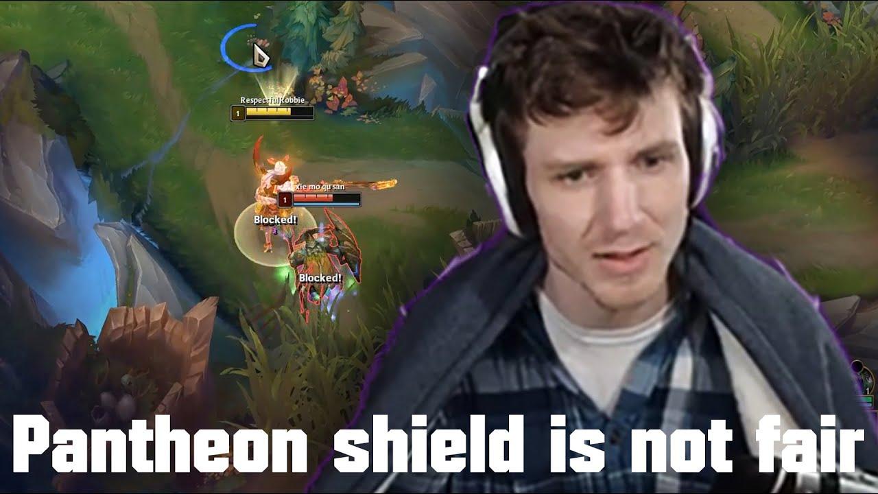 Hashinshin: Pantheon's shield is not Balanced | aatrox vs pantheon